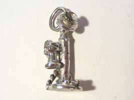 Vintage sterling silver 3D charm pendant - $12.00