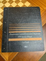 OEM Ford 1993 Car / Truck Powertrain Control Emissions Diagnosis Service Manual - $49.49