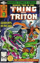 Marvel Two-In-One Comic Book #65 The Thing and Triton Marvel 1980 VERY GOOD - $1.50