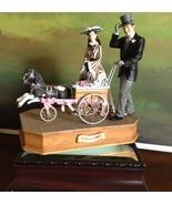 San Francisco Music Box Co - Rhett & Scarlett w/Baby Carriage Gone With ... - $150.00