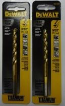 """Dewalt DW1384 9/32"""" Pilot Point Titanium Drill Bit 2PKS - $3.96"""