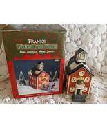 Frank's Winter Tyme Village Where Beautiful Things Begin - $14.54