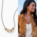 Touchstone Crystal Let it Slide necklace brand new in box by Swarovski