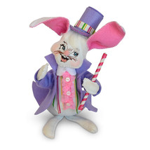 Annalee Dolls 6in 2018 Easter Parade Boy Bunny Plush New with Tags - $15.69