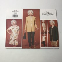 Vogue 1972 Size 14-18 Misses' Miss Petite Jacket Dress Top Shorts Pants - $12.59