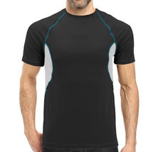 Men's Cool Quick-Dry Gym Workout Sport Running Breathable Performance T-shirt image 3
