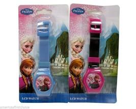 Disney Frozen Elsa Anna LCD Watch Girls Wristwatch Kids Digital Watchesx... - $39.59