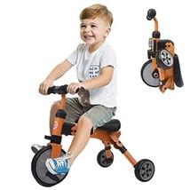Kids Toddler Riding Toys Bicycle 2 In 1 Trike Foldable Balance 18 Month ... - $94.04