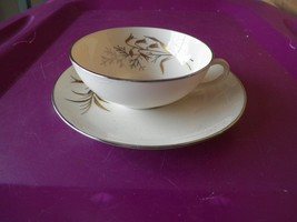 Franciscan cup and saucer (Winter Bouquet) 4 available - $7.87