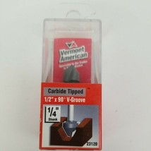 """Vermont American 1/4"""" Shank Carbide Tipped Router Bit 23120 - $14.50"""