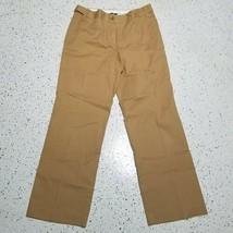 Liz Claiborne Audra Women's Dress Pants ~ Sz 12 ~ Light Brown ~ Cotton B... - $14.84