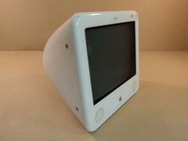 Apple eMac 1GHz 17in PowerPC G4 PowerMac White 40GB Hard Drive A1002 EMC... - $79.09