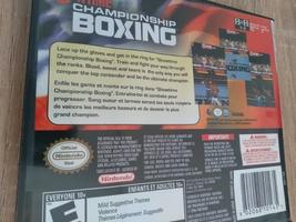 Nintendo DS ShowTime Championship Boxing image 2