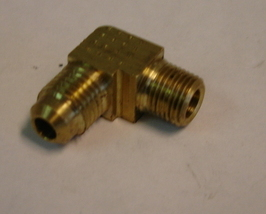 "Single Elbow Adapter, 1/8"" Flare Union - $1.50"