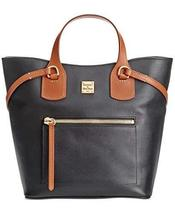 Dooney and Bourke Raleigh Leather Jenny Bag,Black image 2