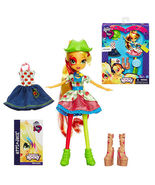 My Little Pony Equestria Girls Rainbow Rocks Applejack Doll with Fashion... - $483,90 MXN