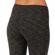 Bench Women's Jet Black Heathered Marl Baddah Leggings Fitness Yoga Pants NWT image 4