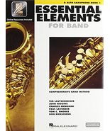 Hal Leonard Essential Elements 2000 Alto Saxophone Book 1 with CD-ROM - $8.49