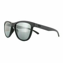 Oakley Moonlighter POLARIZED Sunglasses OO9320-05 Steel COLOR W/ Black I... - $79.19