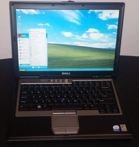 DELL Laptop Computer Core 2 Duo 80GB WiFi Windows XP Notebook Microsoft ... - $117.81