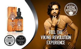 Beard Oil Conditioner - All Natural Cedarwood & Pine Scent with Organic Argan &  image 3