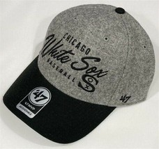 Chicago White Sox MLB Cooperstown Gray Fenmore MVP Adjustable Hat *NEW* - $28.71