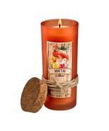 Mai Tai Highball Scented Jar Candles 33 Hours Burn Time Cork Lid - $17.41