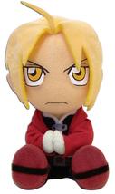 Fullmetal Alchemist Brotherhood Edward Sitting Stuffed Plush GE6915 *NEW* - $19.99