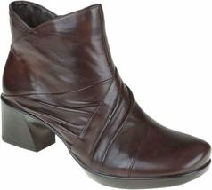 Womens Earth Zinnia Side Zipper Boots - Bark Soft Calf, Size 9 - $61.99