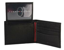 Tommy Hilfiger Men's Leather Credit Card Id Wallet Billfold Black 31TL22X023 image 6