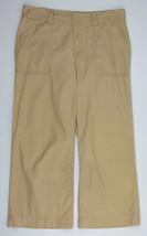 Lauren Ralph Lauren Capri pants casual Wide leg Tan Womens Size 10 - $7.87