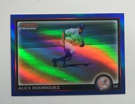 Alex Rodriguez Card /199 2010 YANKEES Bowman Chrome Refractors #118 - $13.30
