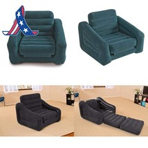 """Intex Pull-Out Chair Inflatable Bed, 42"""" X 87"""" X 26"""", Twin (Colors May V... - $60.05 CAD"""