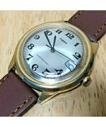 Vintage 1978 Timex Marlin Men Gold Tone Hand-Winding Mechanical Watch Ho... - $47.49