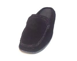 Women's Minnetonka Black Suede Slides Size 5 - $44.50