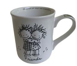 Enesco Children of the Inner Light Friends Girls Hug Coffee Mug 16 Oz Gift - $19.79