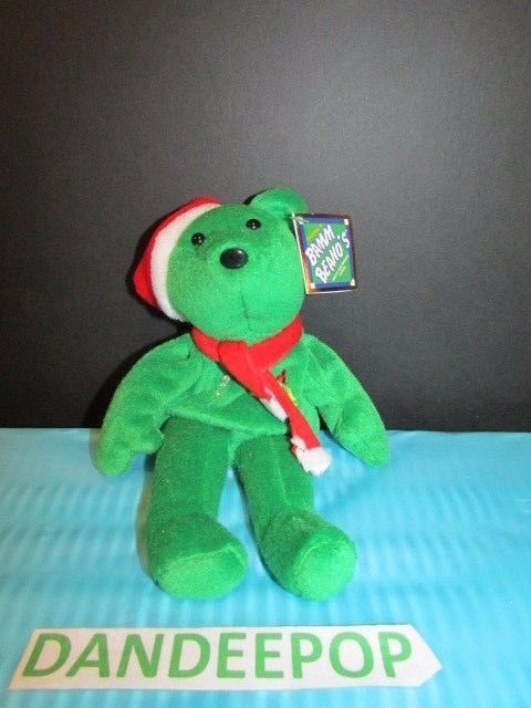 Salvino's Bamm Beano's Holiday Bear #3 Alex Rodriguez Issue Date 1998 With Tags