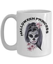Halloween Princess Gifts For Girls Creative White Ceramic Coffee Mug - $21.73