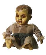 Creepy Gothic Horror HAUNTED BABY DOLL Spooky Halloween Decor Haunted Ho... - $44.07