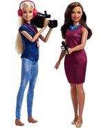 Barbie Careers TV News Team Dolls, 2 Pack - $27.60