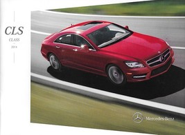 2014 Mercedes-Benz CLS-CLASS brochure catalog US 14 550 CLS63 AMG S - $10.00