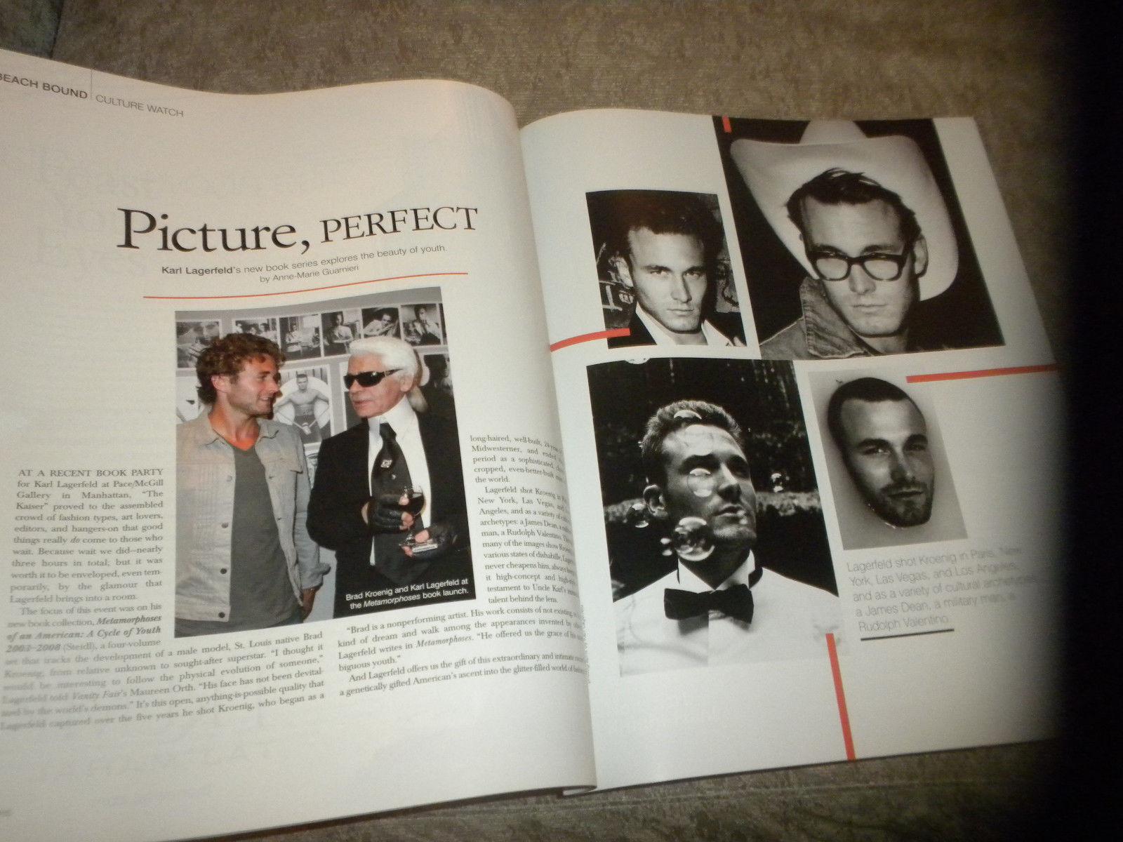 Hamptons Magazine Kelly Ripa; Fashion; Auto Racing; Ivanka Trump Ads 2008 NF