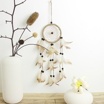Indian Style Handmade Dream Catcher Net With Feathers Hanging Decoration... - $14.00
