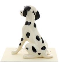 Hagen-Renaker Miniature Ceramic Dog Figurine Dalmatian Sitting image 3