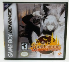 Castlevania Aria of Sorrow GBA Replacement CASE - Black Case (*NO GAME*) - $5.66