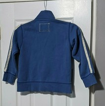 Lands End Small Boy Girl Sweater Jacket Zip up Front Stripes Long Sleeve... - $6.95