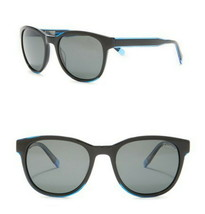Original Penguin Blue Trim Sunglasses 51-19-145mm Black Frame $187 Gray ... - $89.00
