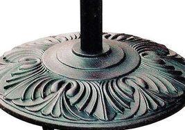 Patio Umbrella Iron Base Amazon Outdoor Furniture Cast Aluminum Bronze. image 6