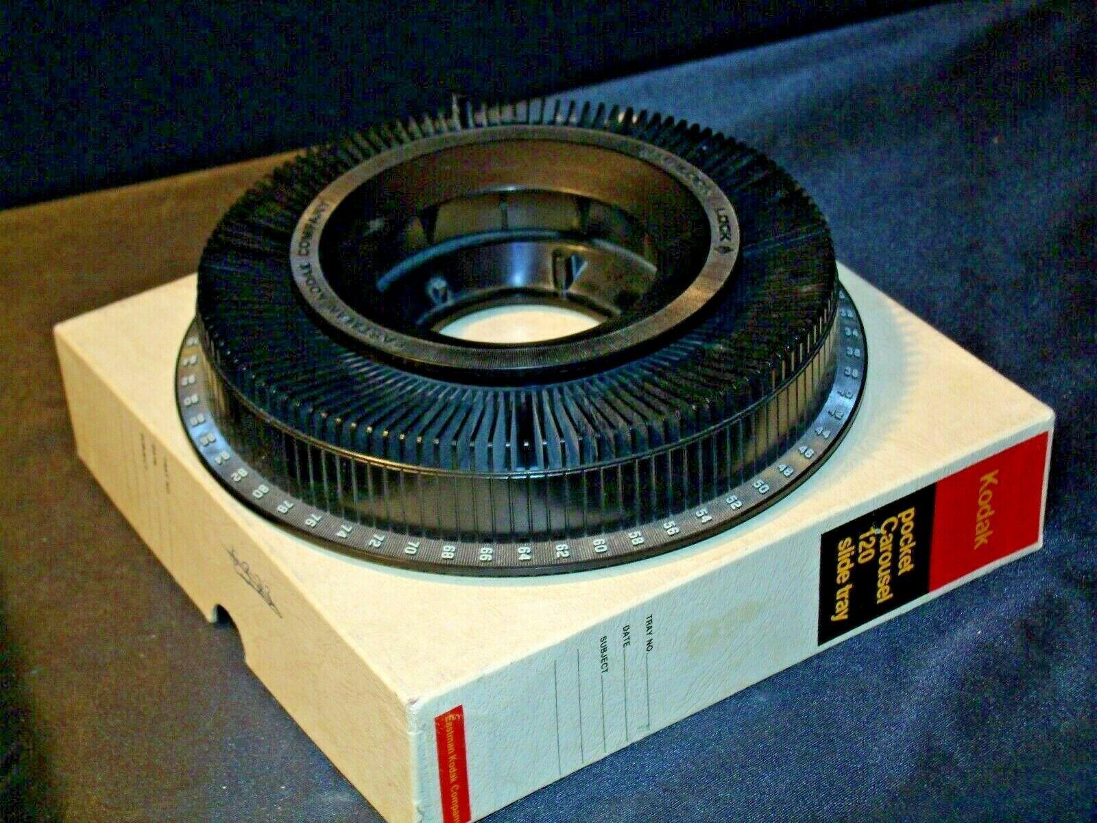 Kodak Pocket Carousel 120 Slide Tray AA-192041 Vintage