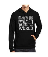The Most Awesome Dad Mens Crewneck Hoodie Perfect Gift Idea For Dad - $25.99